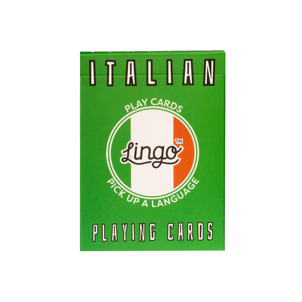 Lingo Italian Playing Cards