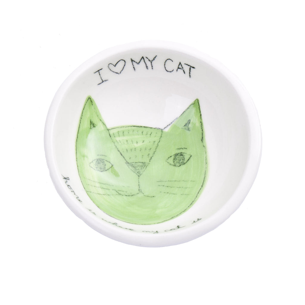 Borrowed Earth Cat Bowl