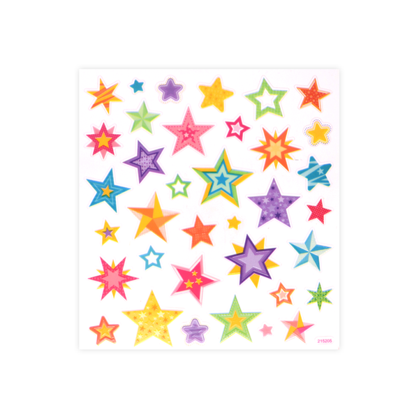 Glow in the Dark Stickers Stars