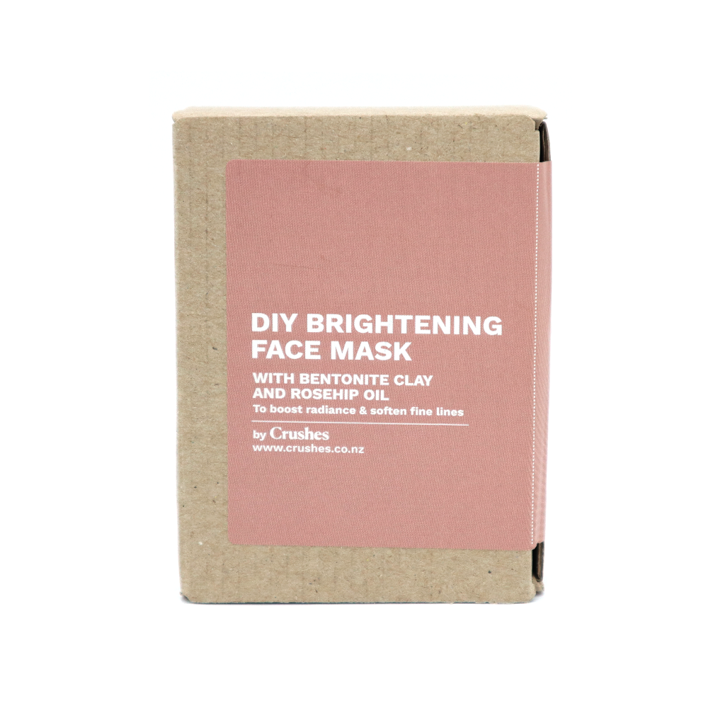 Crushes Face Mask DIY Kit Makes 5 Brightening Rosehip