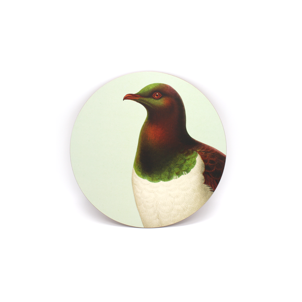 100% NZ Coaster Kereru