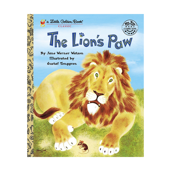 Little Golden Book The Lion's Paw