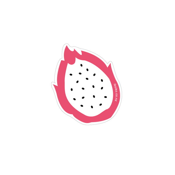 Iko Iko Fun Size Sticker Dragonfruit