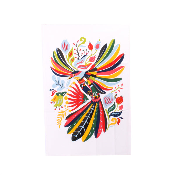 Tofutree Tea Towel Flying Fantail