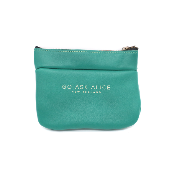 Go Ask Alice Polly Purse Teal Green