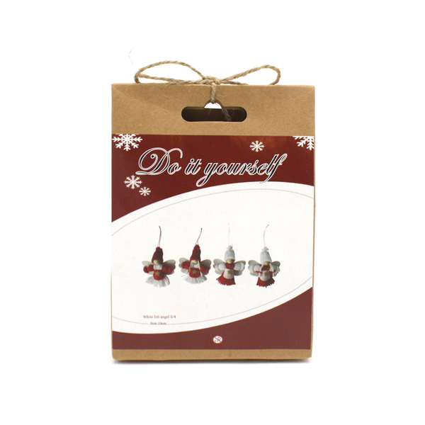 DIY Christmas Angels Set of 4