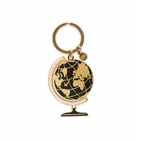 Rifle Paper Co. Enamel Keychain Globe