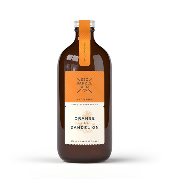 Six Barrel Soda Orange Dandy Syrup