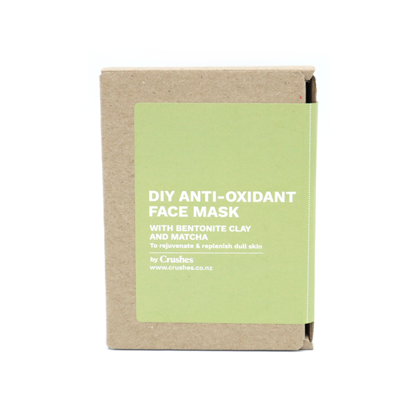 Crushes Face Mask DIY Kit Makes 5 Antioxidant Matcha