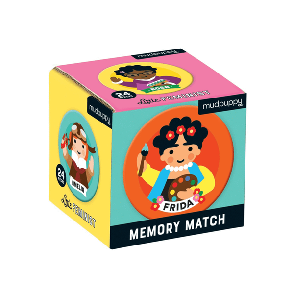 Mudpuppy Mini Memory Match Game Little Feminist