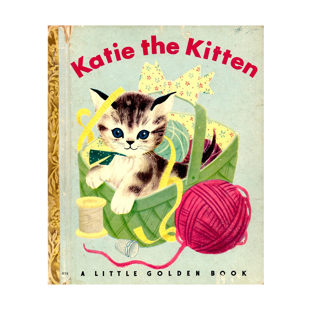 Little Golden Book Katie the Kitten