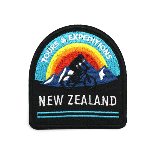 New Zealand Iron on Patch Tours and Expeditions