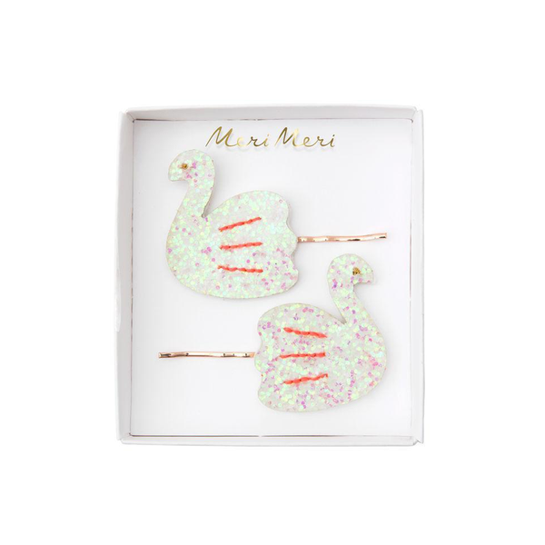 Meri Meri Swan Hair Slides