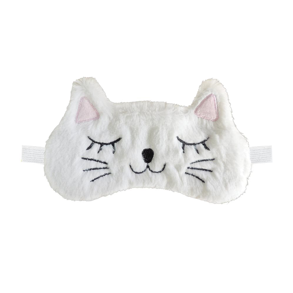 Plush Kitty Cat Sleep Mask