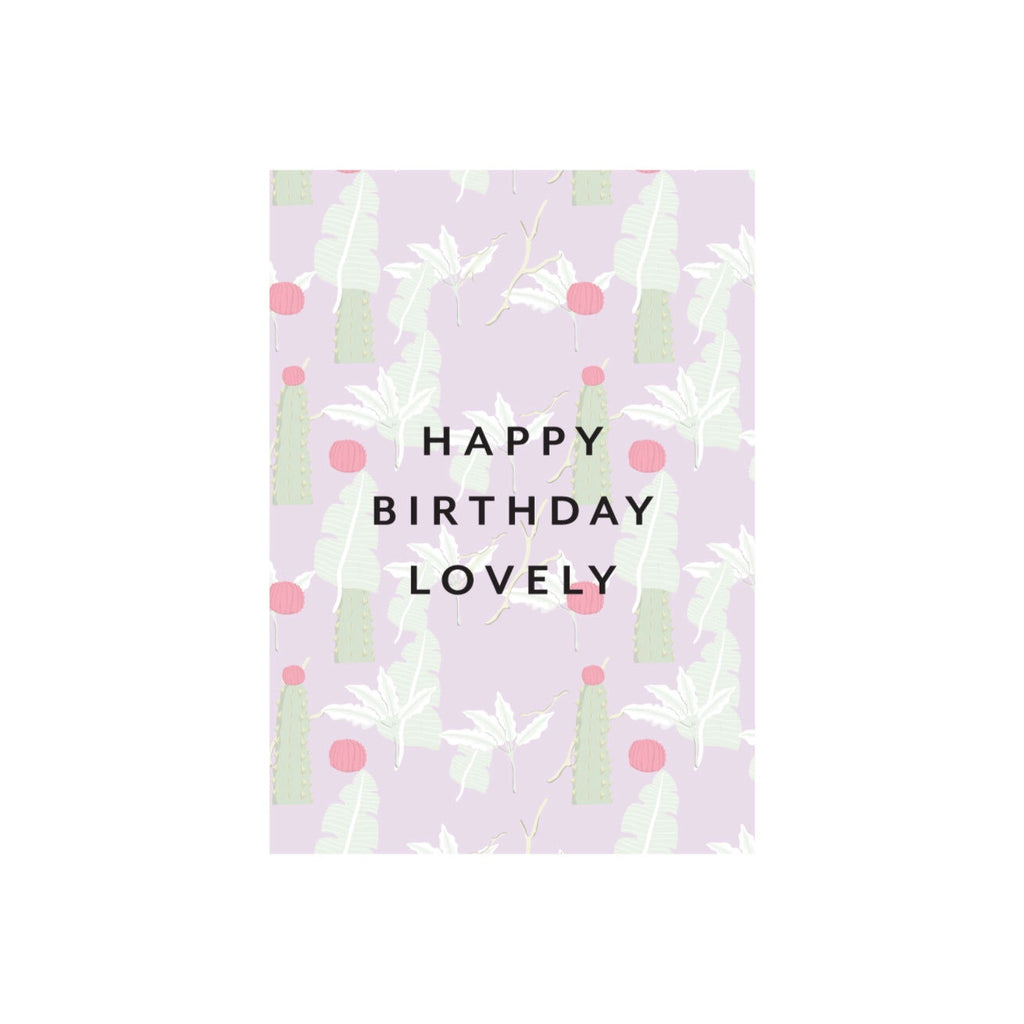 Iko Iko Floral Card Birthday