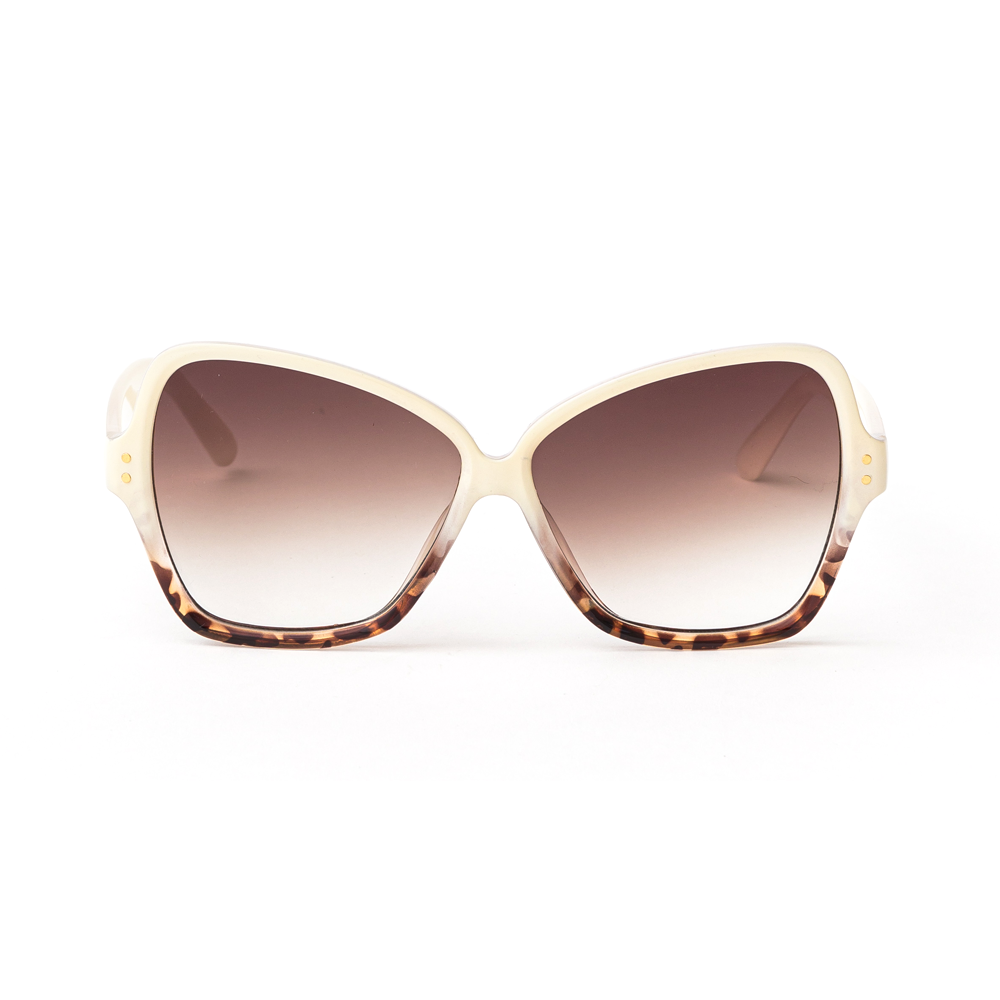 Stella + Gemma Sunglasses Papillion Cream Leopard