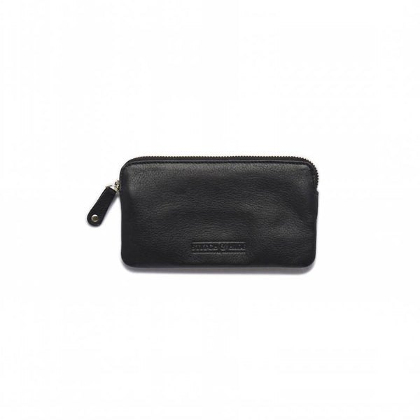 Stitch & Hide Leather Lucy Pouch Black