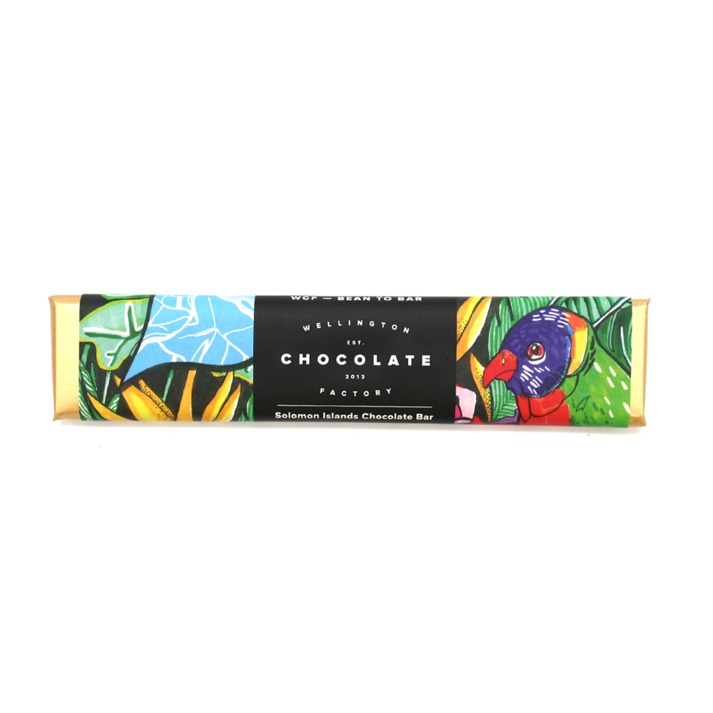 Wellington Chocolate Factory Solomon Islands Bar 25g