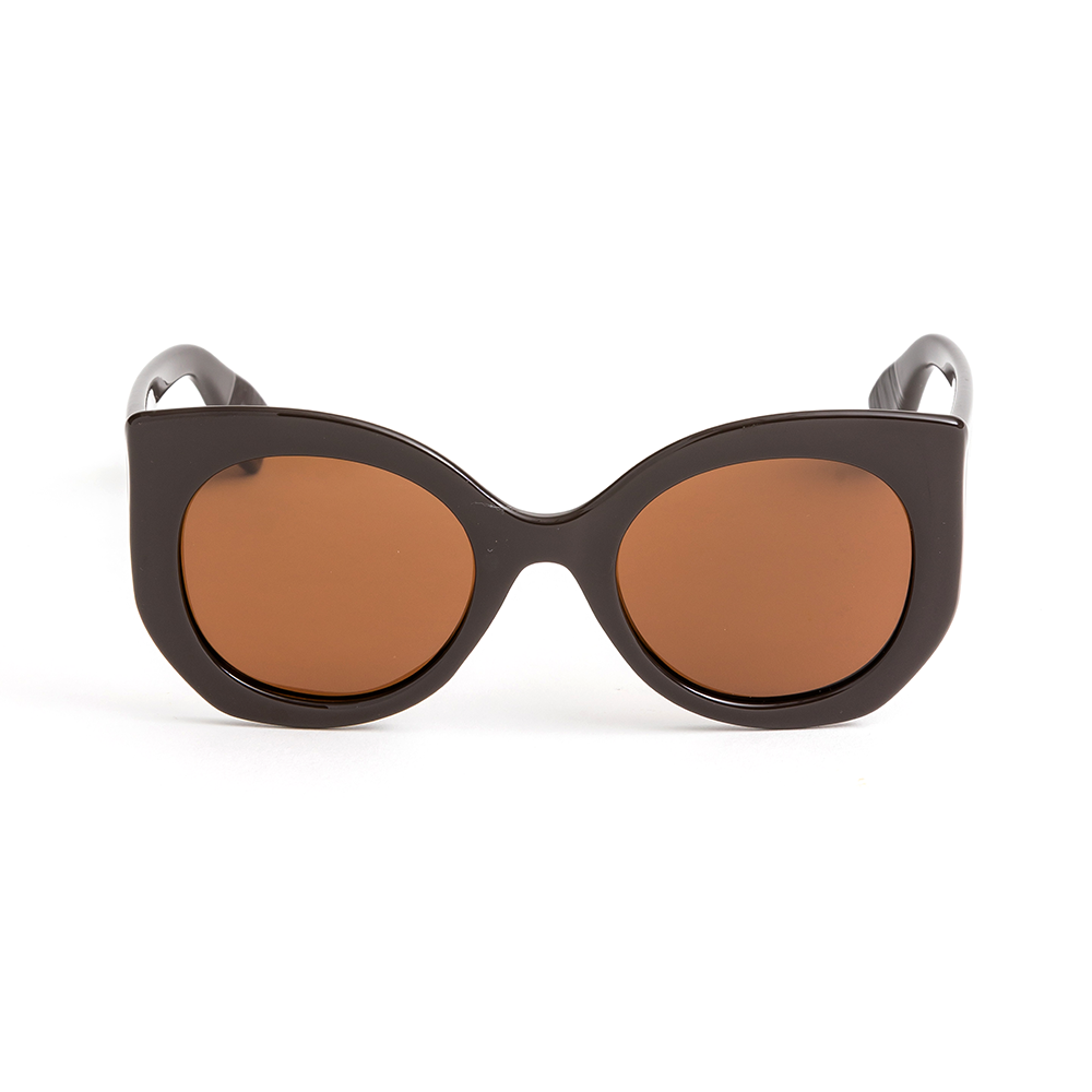 Stella + Gemma Sunglasses Lola Dark Brown