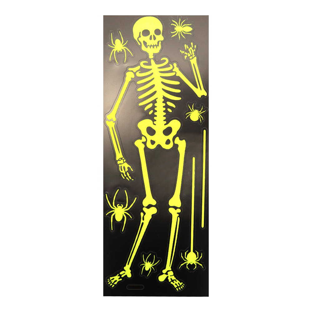 Glow in the Dark Wall Stickers Skeleton