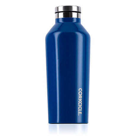 Corkcicle Canteen Drink Bottle 9oz Riviera Blue