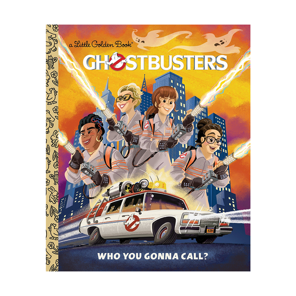 Little Golden Book Ghostbusters Who You Gonna Call