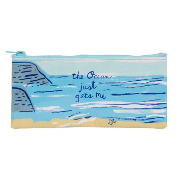 Blue Q Pencil Case Ocean Gets Me