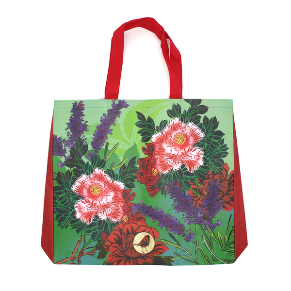 Flox Reusable Shopping Bag Korimiko Red Handle