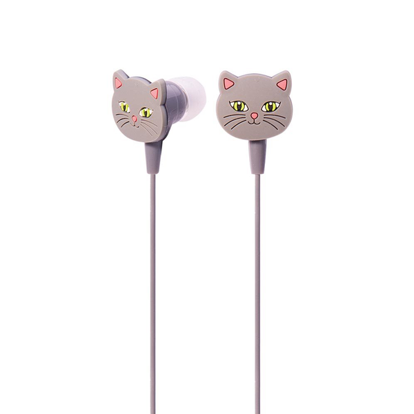 Animal Earbuds Cat