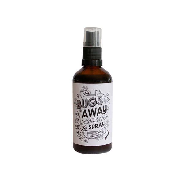 Zoes Bugs Away Kawakawa Spray