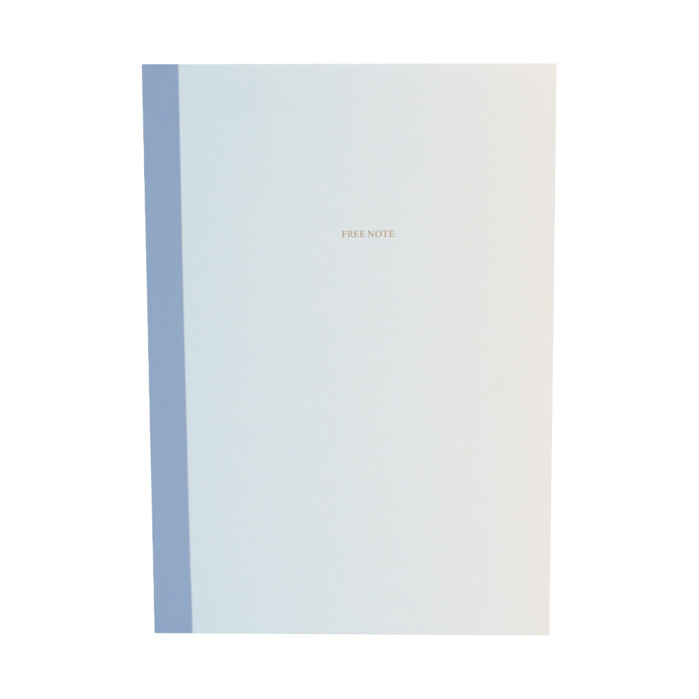 O-Check Design Graphics Free Note Gredation Notebook Large Blue