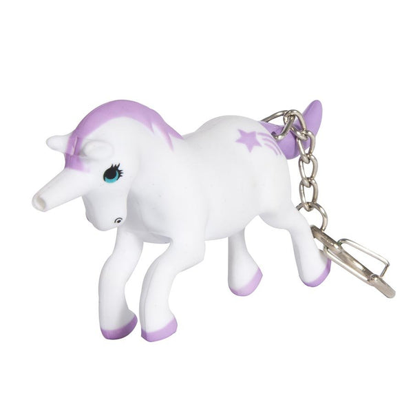 Unicorn Fantasy LED Keychain Assorted