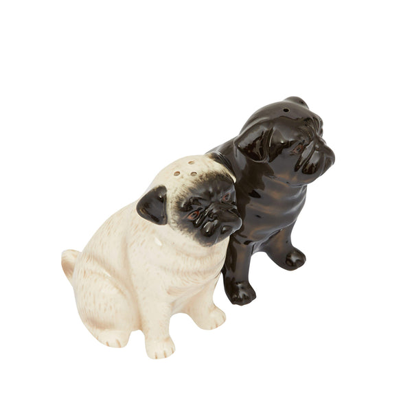Quail Pug Salt & Pepper Shaker