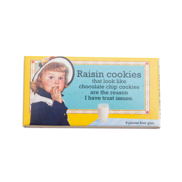 Raisin Cookies Chewing Gum