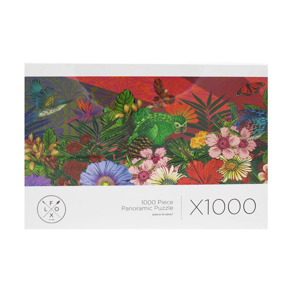 Flox NZ Birds and Flowers 1000 Piece Puzzle 2