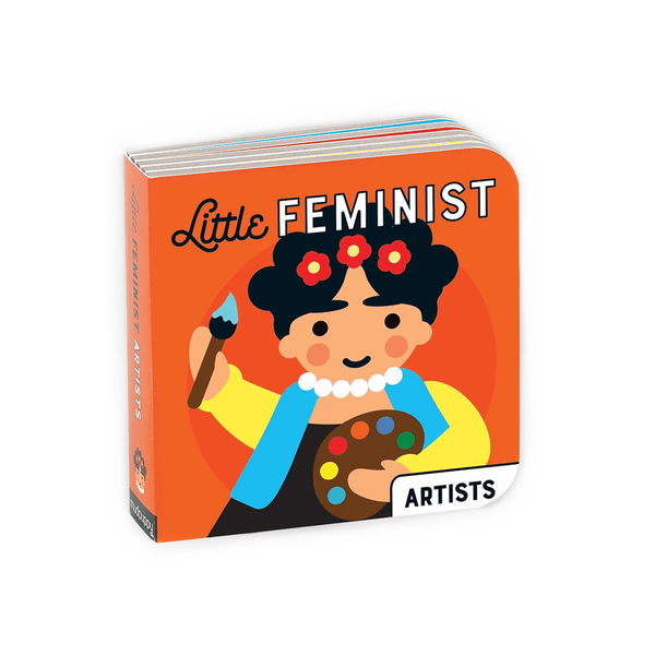 Mudpuppy Little Feminist Board Book Artists