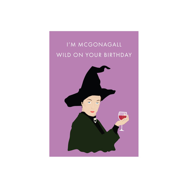 Iko Iko Pop Culture Card McGonagall Birthday