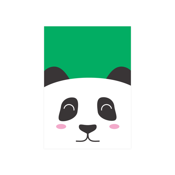 Iko Iko Kids Animal Card Panda