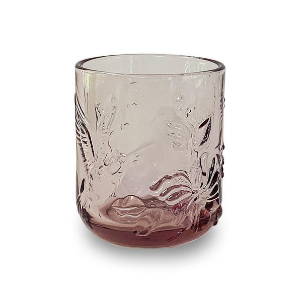 Nel Lusso Dawn Rainforest Glass Pink