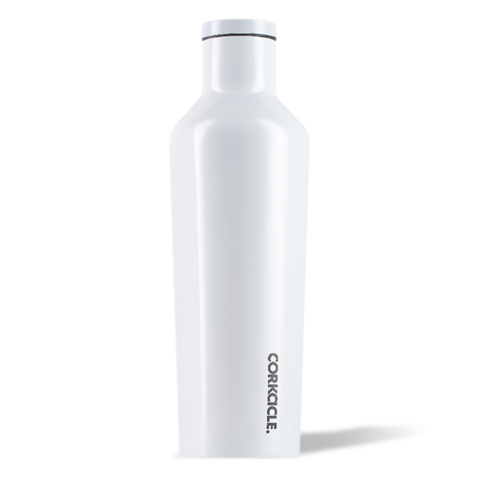 Corkcicle Canteen Drink Bottle 16oz Dipped White