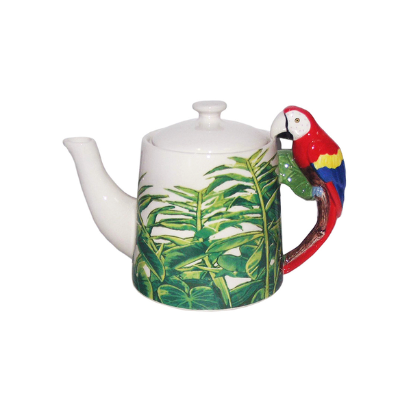 Dakota Macaw Handle Teapot