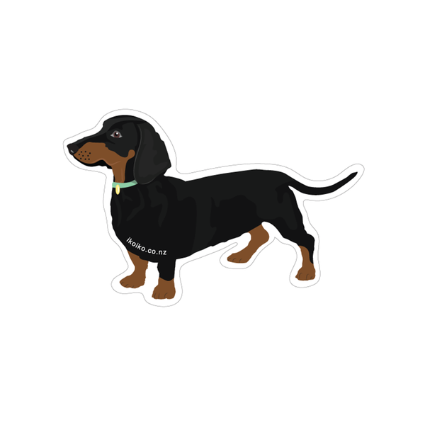 Iko Iko Fun Size Sticker Dachshund