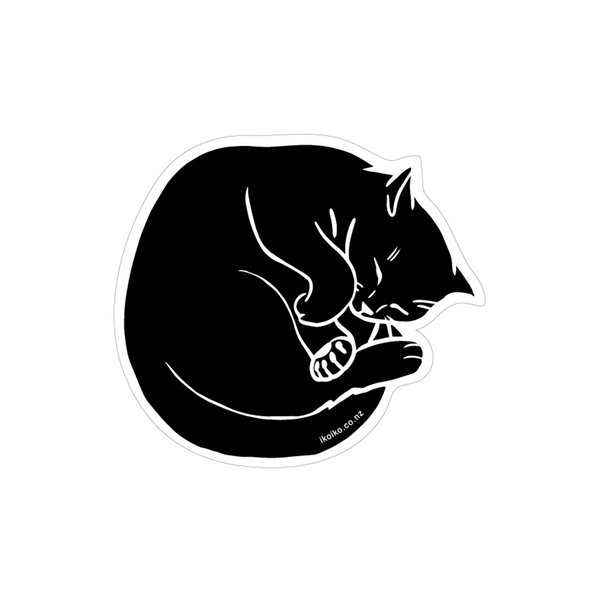 Iko Iko Fun Size Sticker Talula Black Cat