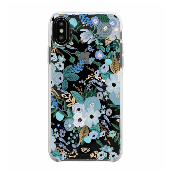 Rifle Paper Co. iPhone XS Max Hard Case Garden Party Blue