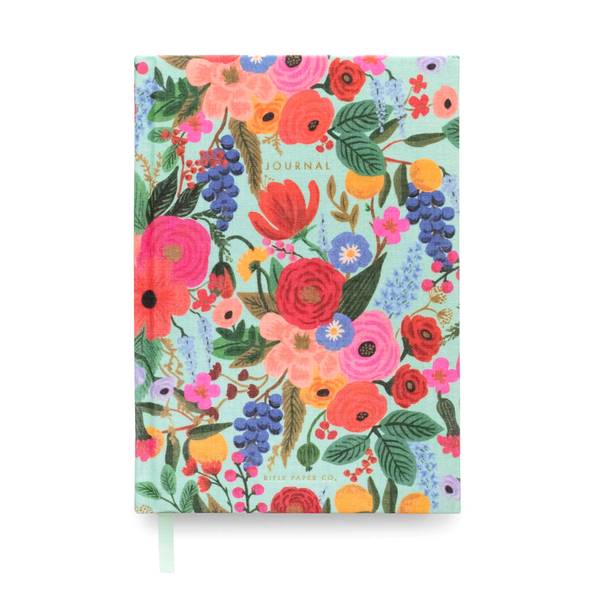 Rifle Paper Co Fabric Journal Ruled Large Garden Party