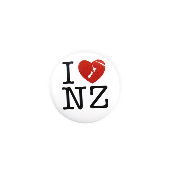 Nz Badge I Love NZ