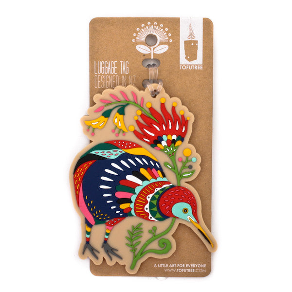 Tofutree Luggage Tag Kiwi