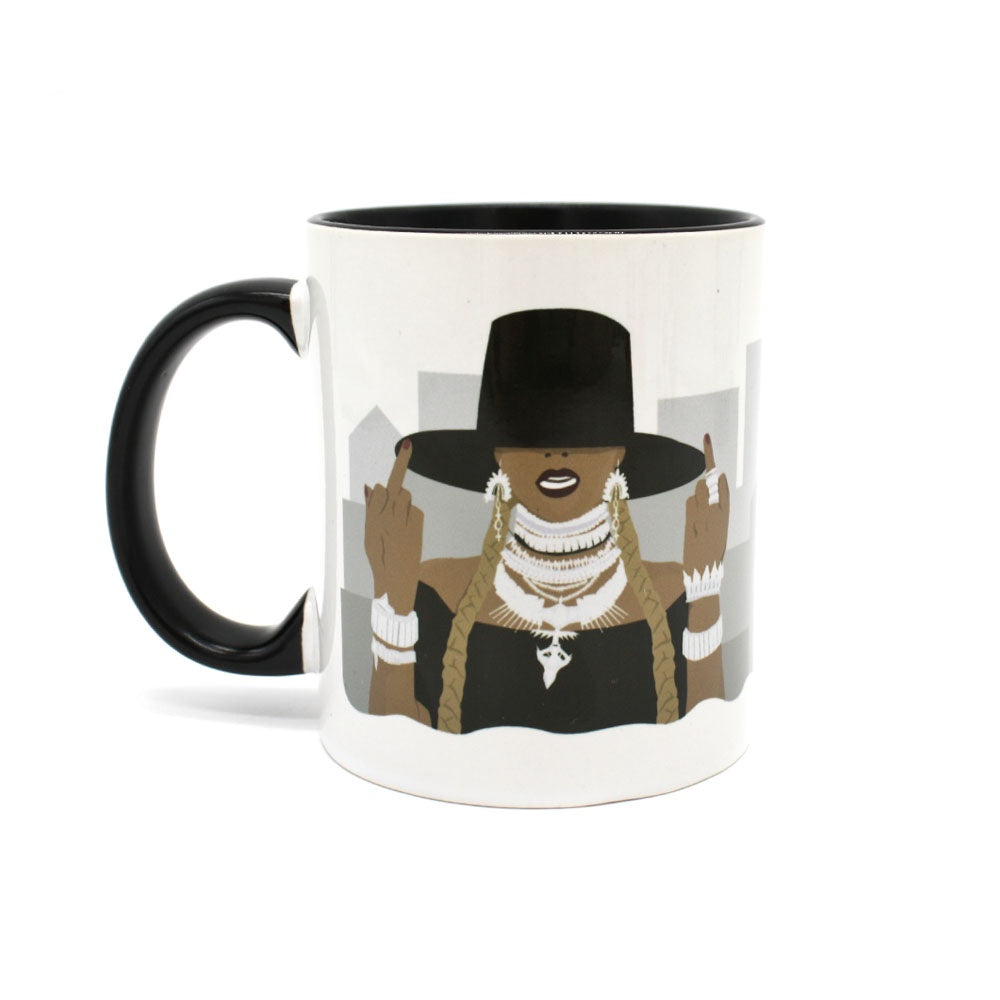 Iko Iko Pop Culture Mug Bey Fingers