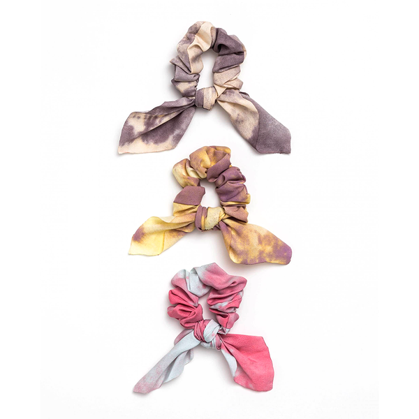 Stella + Gemma Scrunchie Dip Dye with Bow Assorted