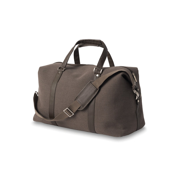 Citta Canvas Weekender Bag Brown